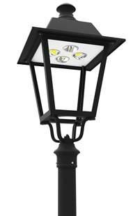 led post light fixture led pt 710 series led post top lantern light fixtures