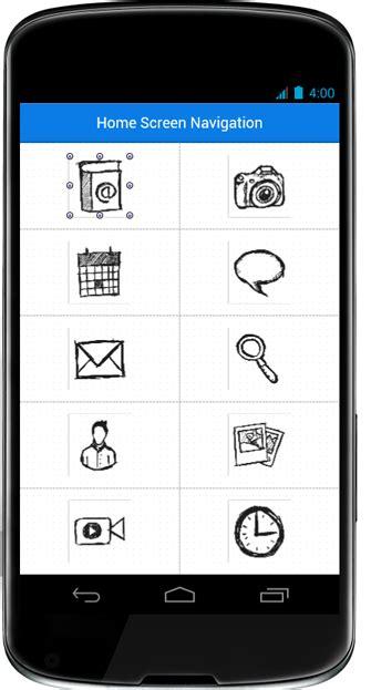 mobile user interface design mobile user interface design home screen navigation