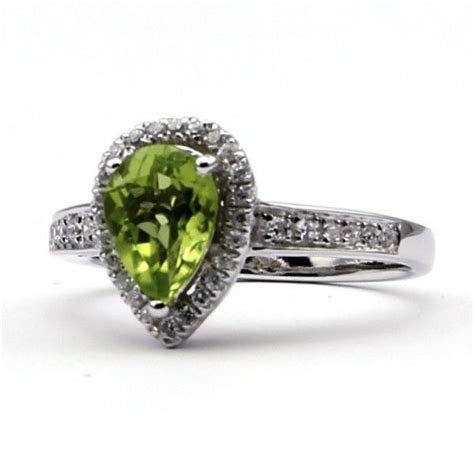 peridot engagement ring say yes antique engagement