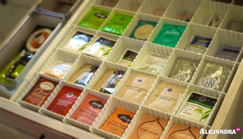 tea drawer video most organized home in america part 2 by