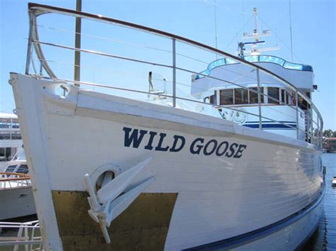 wild goose boat john wayne s superyacht wild goose enters the national