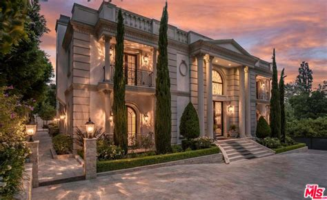 neoclassical style homes neoclassical style estate in bel air ca re listed homes