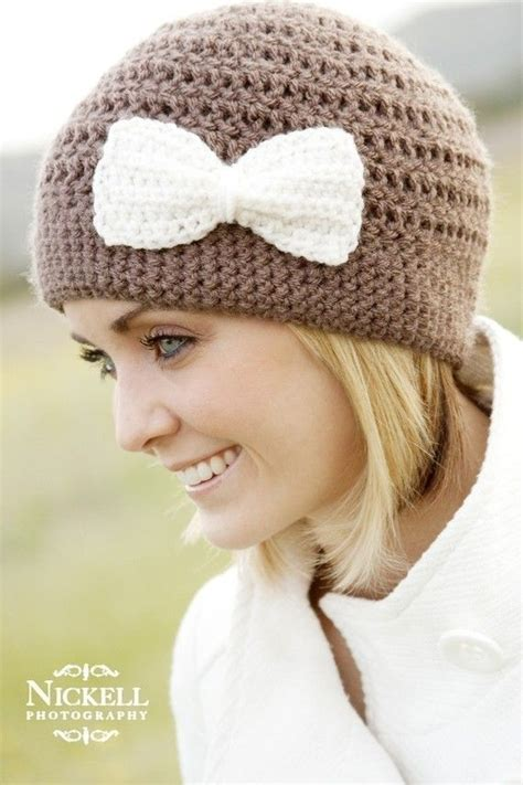 acorn hat so cute crochet love pinterest crochet cloche hat love the bow details and i think