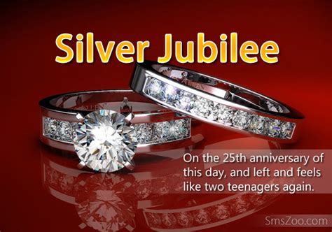 Silver Jubilee Wedding Anniversary Wishes Sms by Silver Jubilee Anniversary Wishes Wedding Anniversary
