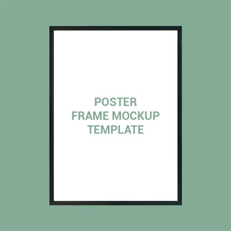 poster design template psd free download poster frame mockup template design free psd download
