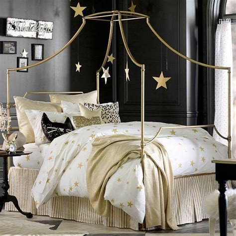 white and gold bedding the emily and meritt heart and star black and white duvet cover and sham
