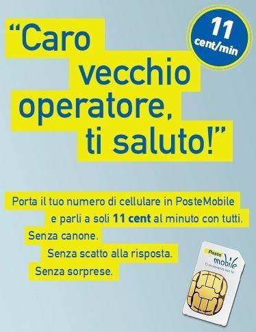 tariffe posta mobile poste mobile convenienza probabilmente la migliore