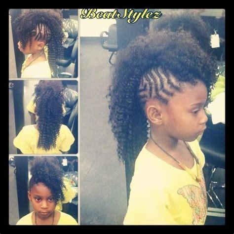african american kids braided in mohawk kids braided mohawk hairlife pinterest kid braids