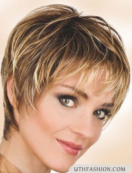 haircuts for round faces of a 55 year old top 12 short hairstyles for older women uthfashion com