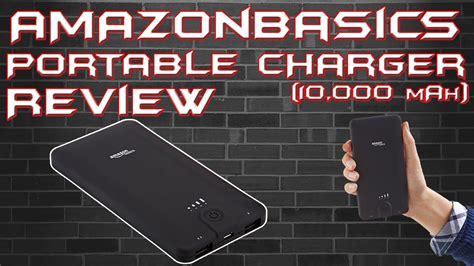 10000 Mah Amazonbasics by Amazonbasics Portable Power Bank Unboxing Review 10 000 Mah