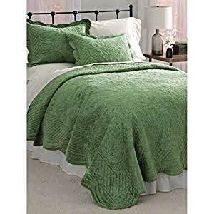 Green Coverlet Blair Home Velvet Coverlet