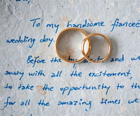 Letter To Fiance Before Wedding wedding day letters wedding flowers and decorations