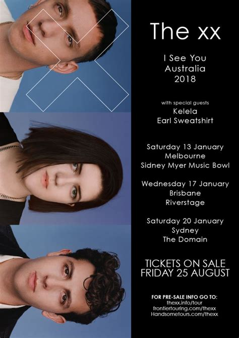 Ticket The Xx I See You Tour 2018 Jakarta Ga Section 2 Per Sale we chat to ahead of the xx australian tour in