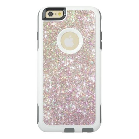 Casing Hp Gliter Iphone 6 Plus Color Pink pink gold glitter otterbox iphone 6 zazzle