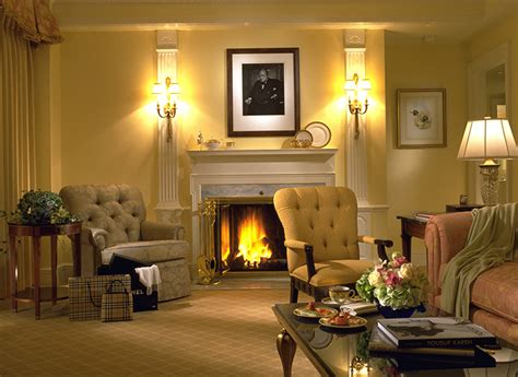 hotel with fireplace in room s mores fireplaces and warm baths autumn perfected at the taj boston magazine