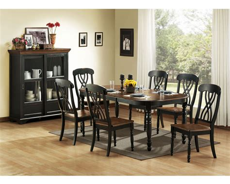 black dining room furniture homelegance ohana black dining collection 1393bk din set at homelement