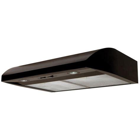30 inch under cabinet range hood black air king essence 30 in under cabinet range hood in black