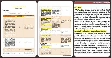 planeacion semanal ingles de segundo de secundaria ensayos un ejemplo de planeaci 243 n did 225 ctica argumentada imagenes