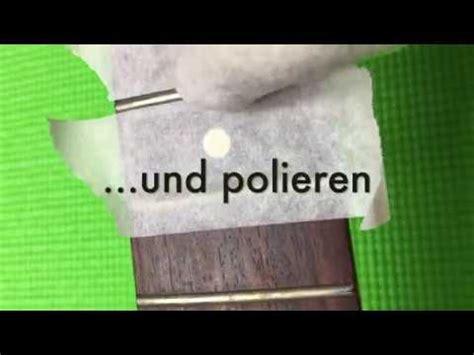Gitarren Polieren by Griffbrettpflege Und B 252 Nde Polieren