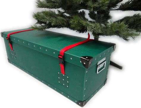 sartifical christmas tree box artificial tree luxury storage box container made in uk ebay