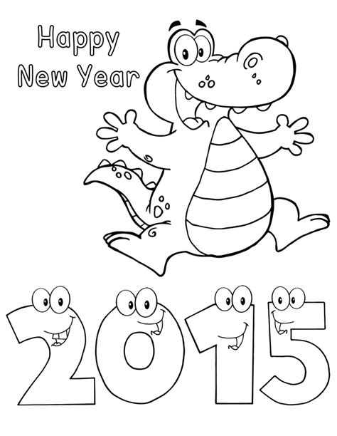 new year activities for second grade new year drawing for happy new year 2015 alligator