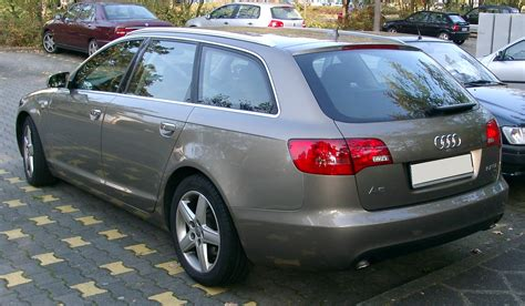 Audi A 6 Kombi by File Audi A6 Kombi Rear 20071011 Jpg Wikimedia Commons