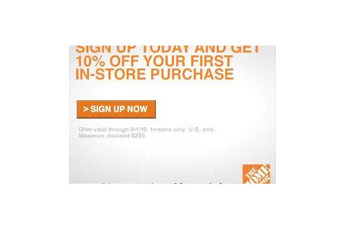 home depot movers club 10 off coupon