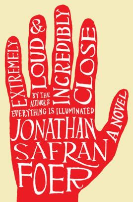 Jonathan A Novel extremely loud and incredibly a novel by jonathan