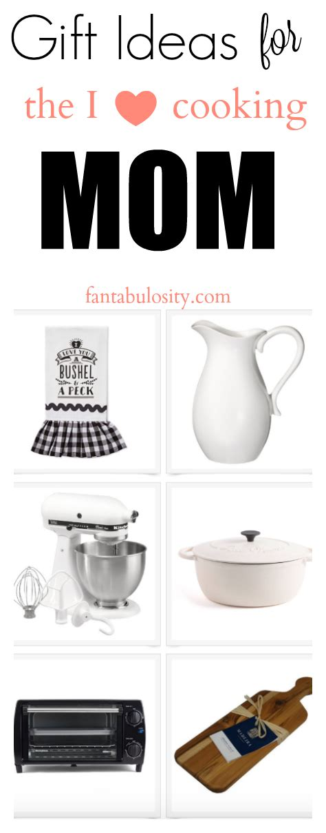 kitchen gift ideas for mom gift ideas for mom for the baker chef fantabulosity