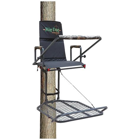 big treestands big retriever hang on tree stand 593599 hang on tree stands at sportsman s guide