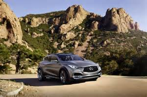 Are Infiniti Cars Made By Nissan Infiniti Qx30 Concept Small Luxury Suv Previews 2016