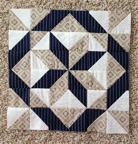 Two Block Quilt Patterns by Quilting Land All Hallows Quilt Block