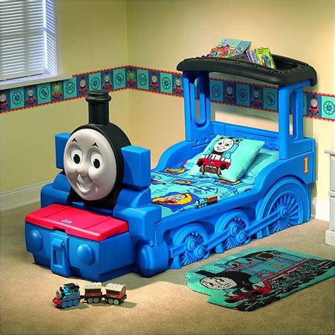 kids train bed the friendly thomas friends train bed for kids