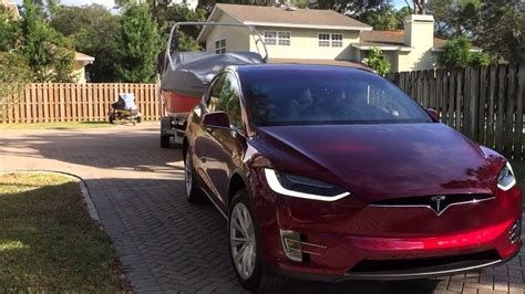 Tesla Model X Towing Capacity Tesla Model X Testing Out Towing Capability Cleantechnica