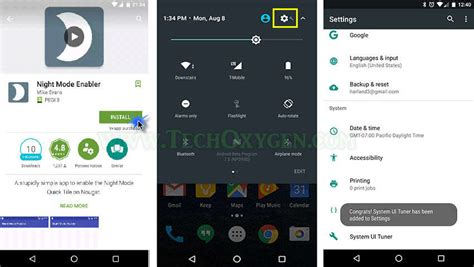 android version 7 how to enable mode option in android nougat version 7 0