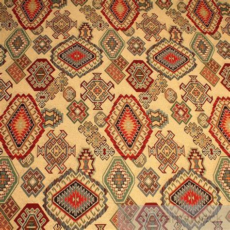 stoff baumwolle polyester gobelin indianermuster decke