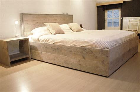 bed van steigerhout pin bed van steigerhout on pinterest