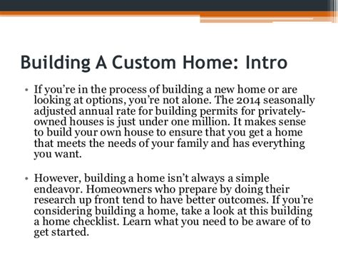 building a house checklist checklist for building a house