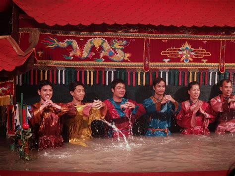vietnamese water puppet show curtain call the mad traveler