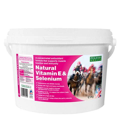 vitamin e supplement for horses pegasus vitamin e selenium for horses