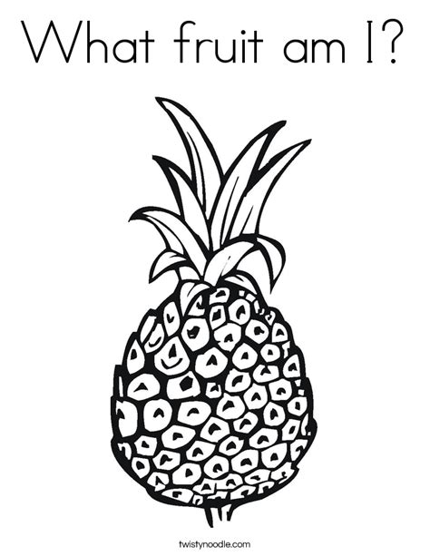 what fruit am i how fruit is developed books what fruit am i coloring page twisty noodle