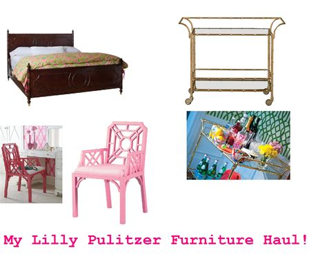 Lilly Pulitzer Furniture by Re Lilly The Pink Closet Pea Pod Paper Gifts Giveaway