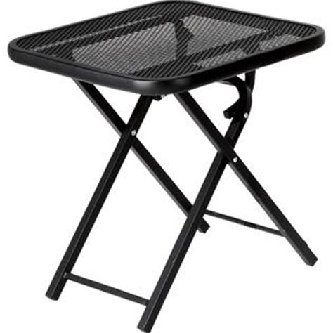 Outdoor Patio Tables Only Garden Oasis Wrought Iron Folding Patio Table Outdoor Living Patio Furniture Tables Side