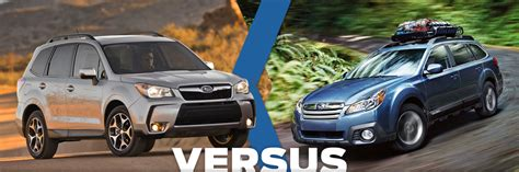 Compare Subaru Forester And Outback by New 2014 Subaru Forester Vs Outback Model Comparison