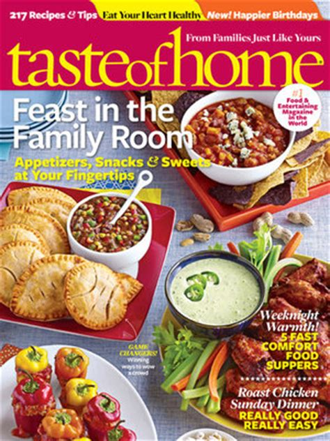 tanga taste of home magazine 3 99 1 1 southern savers