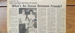 trans atlantic friendship in 55 years we ve never run out