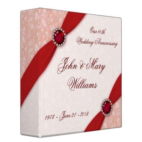 Wedding Anniversary Ruby Ideas by 192 Best 40th Wedding Anniversary Ruby Images On