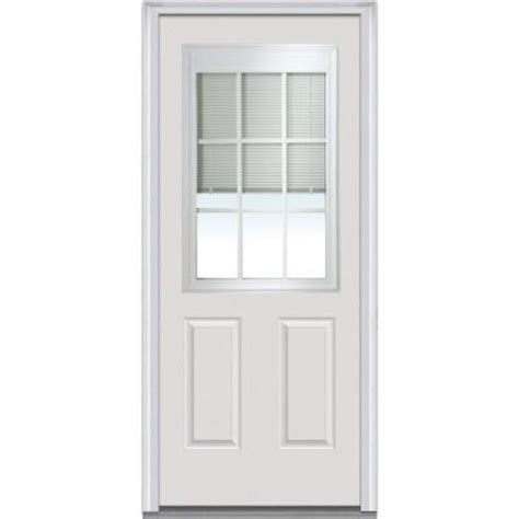 Micro Blinds For Doors by Milliken Millwork 32 In X 80 In Mini Blinds 1 2