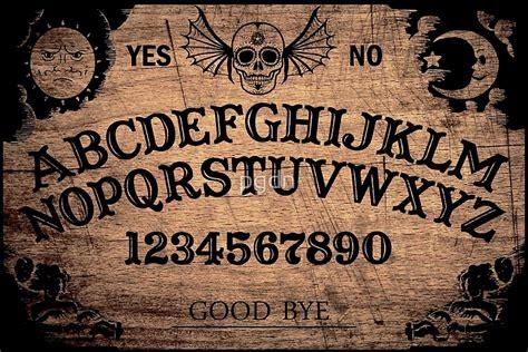 do printable ouija boards work ouija board posters redbubble