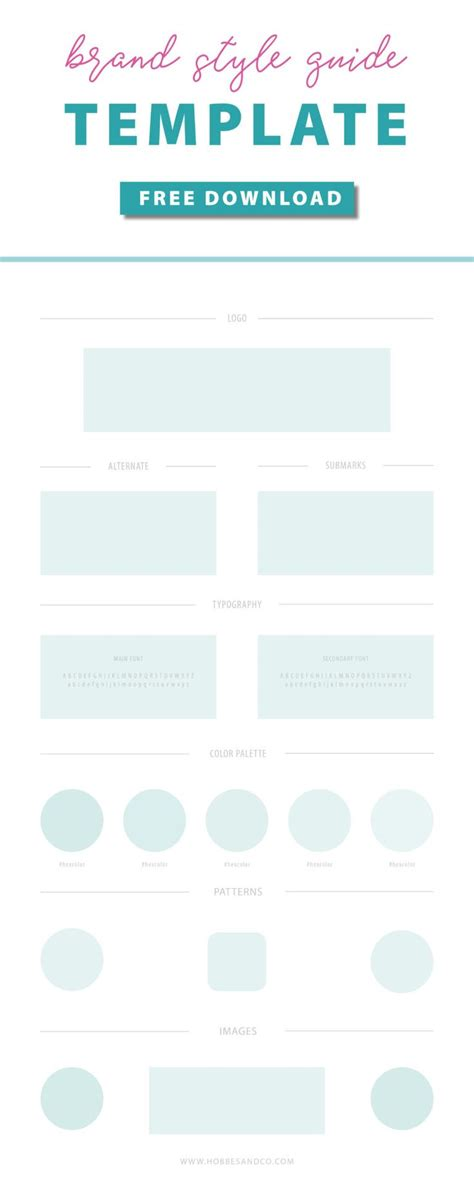 25 Best Ideas About Brand Guidelines Template On Pinterest Brand Guidelines Brand Manual And Brand Style Guide Template